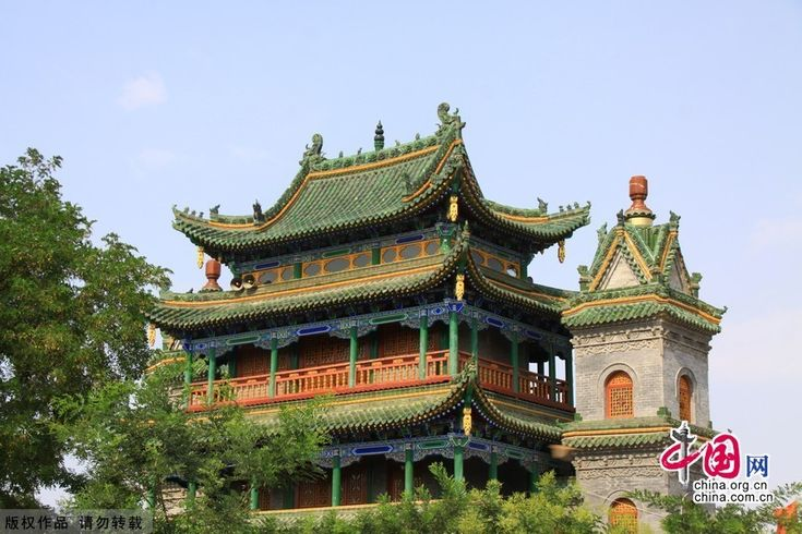 China Architecture | The Najiahu Mosque, a traditional Chinese courtyard-style architecture ...