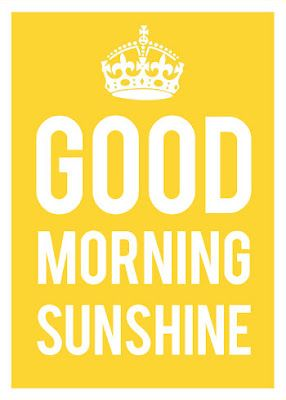 good morning sunshine by the love shop