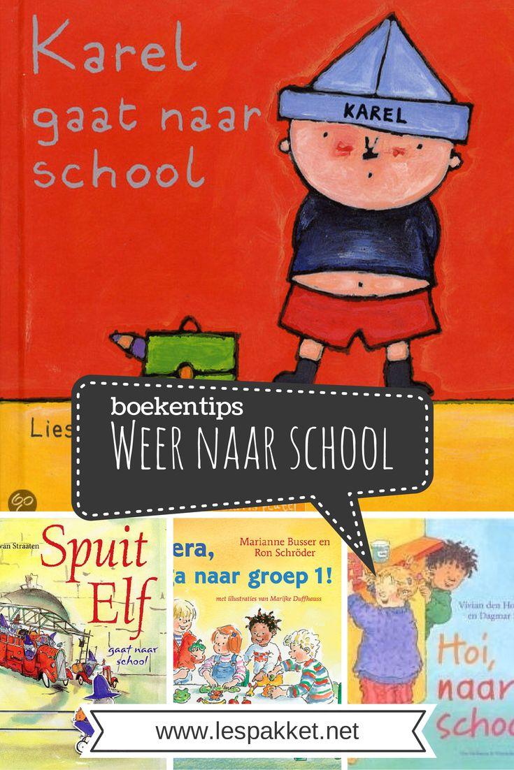 Boekentips - Weer naar school - Lespakket