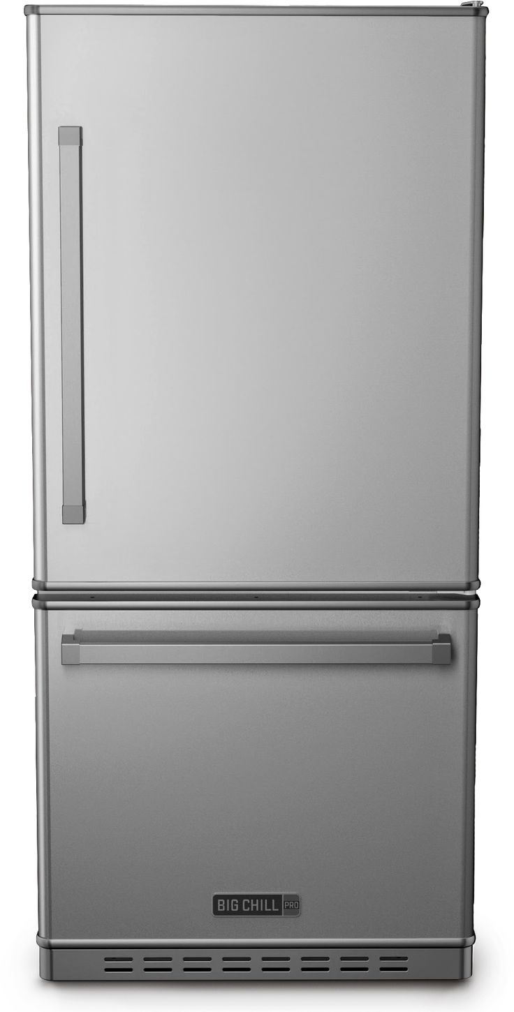 Big Chill - Pro Fridge - Stainless Steel