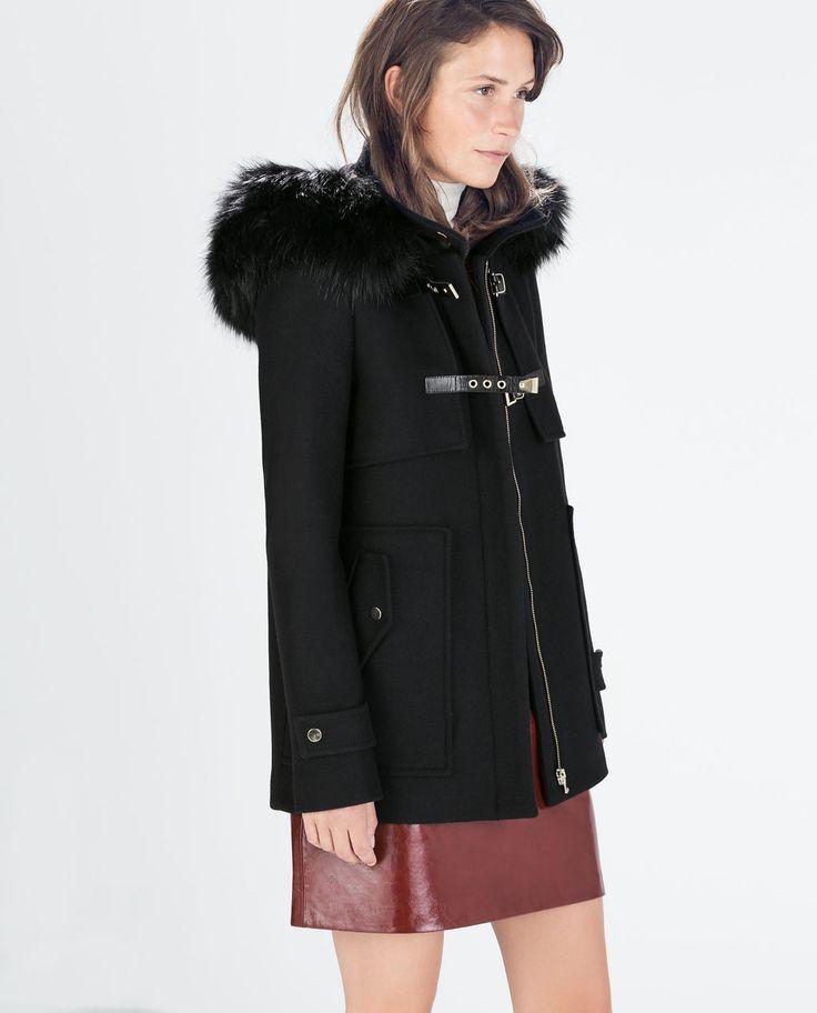 12 best zara images on Pinterest | Women's coats, Black and News ...