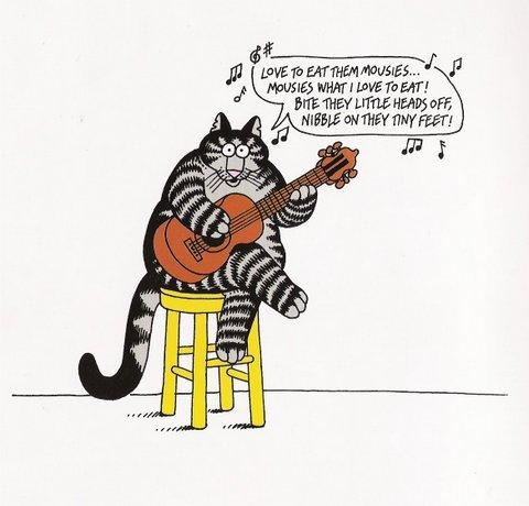 You Dont Have To Care A Jot About Furry Felines Enjoy Bernard Hap Klibans Skewed Pictorial Humor Cats II Book Of 30 Pos