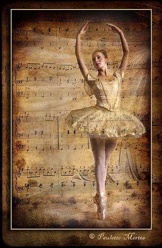 Ballet....vintage sheet music