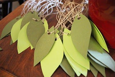 Just Laugh.: A Baby Shower Inspired by a Woodland Forest - hang wishes on a tree!
