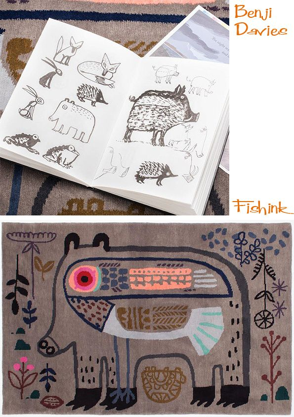 Fishinkblog 6004 Benji Davies 2 Check out my blog ramblings and arty chat here www.fishinkblog.w... and my stationery here www.fishink.co.uk , illustration here www.fishink.etsy.com and here https://carbonmade.com/talent/fishink  Happy Pinning ! :)