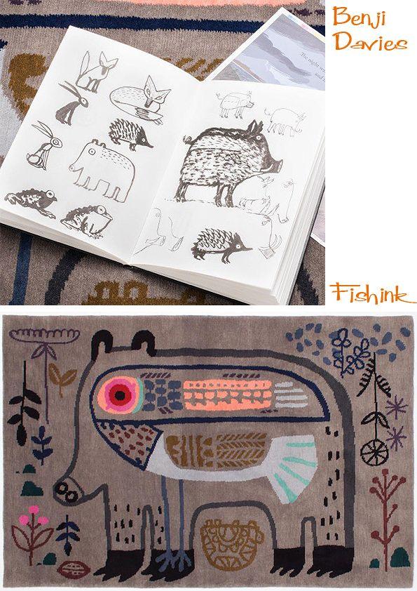 Fishinkblog 6004 Benji Davies 2 Check out my blog ramblings and arty chat here www.fishinkblog.w... and my stationery here www.fishink.co.uk , illustration here www.fishink.etsy.com and here https://carbonmade.com/talent/fishink  Happy Pinning ! :)