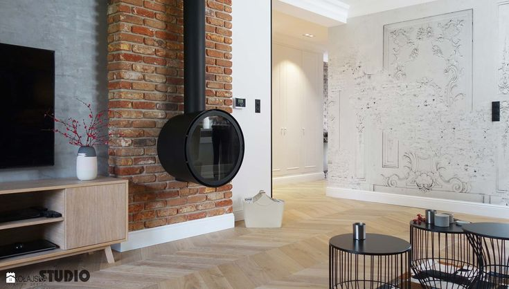 wnętrze pod klucz-wizja - zdjęcie od MIKOŁAJSKAstudio - Salon - Styl Rustykalny - MIKOŁAJSKAstudio