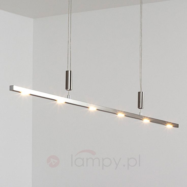 Lampa wisząca LED Tolu. Więcej na: http://www.lampy.pl/Oswietlenie-wnetrza/Lampy-wiszace/Lampy-wiszace-LED