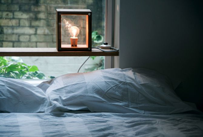 Best Handmade Bedside Table Lamps | Vintage Industrial Style