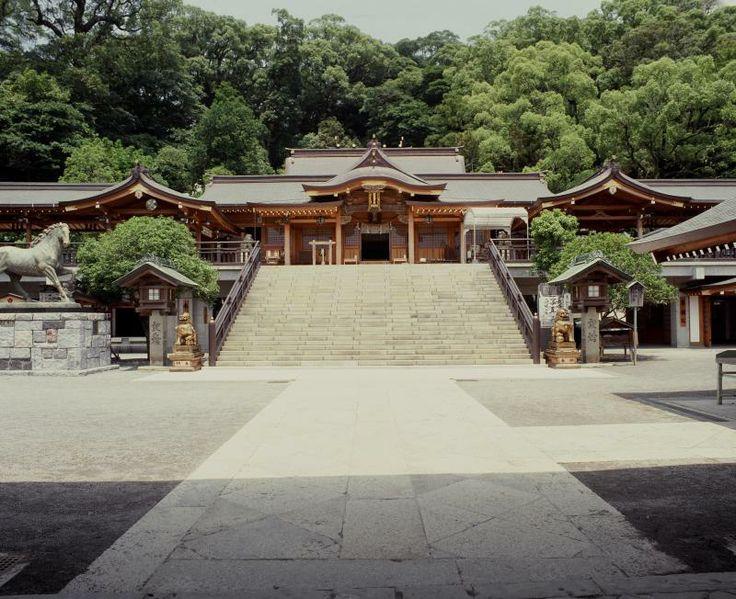 Suwa Shrine, Nagasaki City Nagasaki City Castle ruins, temples and shrines