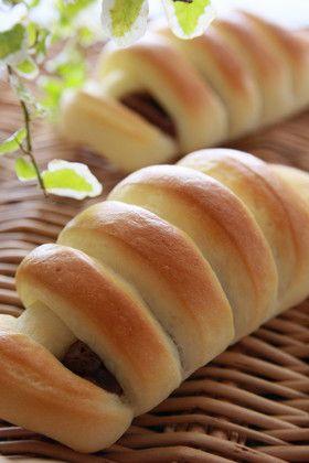 チョコロールパン(簡単成形)