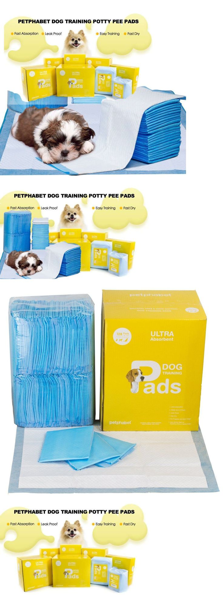 House Training Pads 146243: 128 Dog Puppy Training Pads Housebreaking Wee Wee Potty Indoor Pee Underpads New -> BUY IT NOW ONLY: $37.32 on eBay!