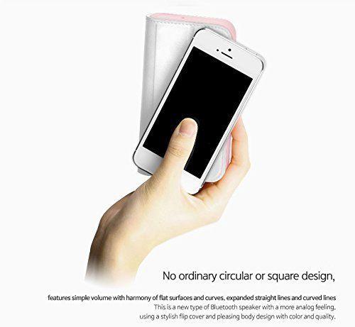 TSST Bocina Portatil Bluetooth Samsung SDI 6W, TS006BA, 10m, 10 hr, Flip Cover Rosa