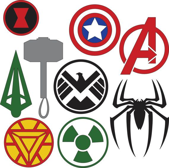 Create Your Own Superhero Logo Free Alternative Clipart Design
