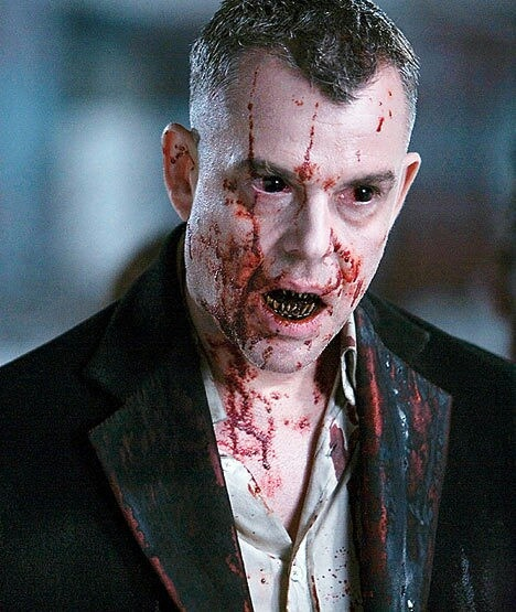 Danny Huston as Marloe in 30 Days of Night (In the world of Vamps, he is a rock star)