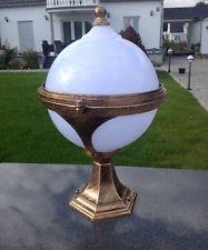 Gold Kugel Stehlampe Aussenleuchte Paris Leuchte Gartenleuchte Stehleuchte