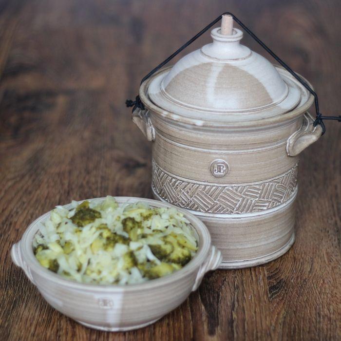 Pickles ze zelí a brokolice