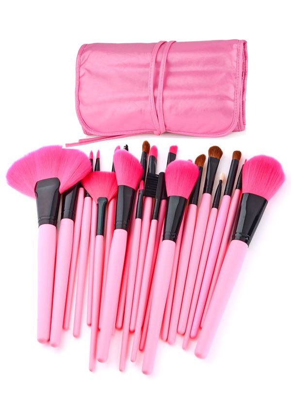 Hurry, before it is gone! Limited time remaining! In-Stock - Ships in 24 hours From New York 99% reviewers recommend this product 100% Money Back Guarantee. This essential brush set gives you all the