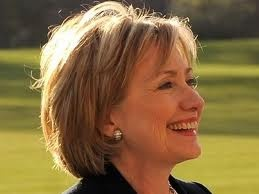 Hilary Clinton-Tough as nails and sharp as a knife.