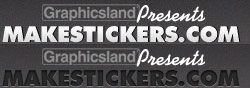 MakeStickers.com - Create custom bumper stickers online with an instant preview.