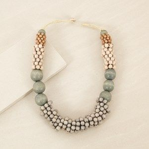 Timber Rings Short Necklace
