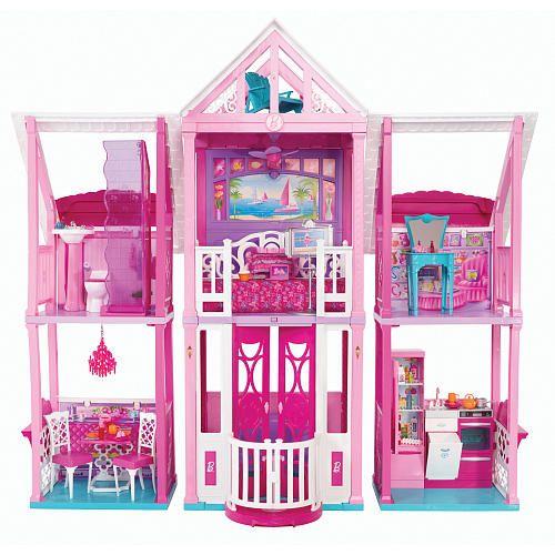 Barbie's Malibu Dream House http://www.kidscooltoys.com/barbies-malibu-dream-house/ #barbie #dreamhouse #malibudreamhouse #toys #girls #girlstoys #kidstoys #populartoys #toysrus