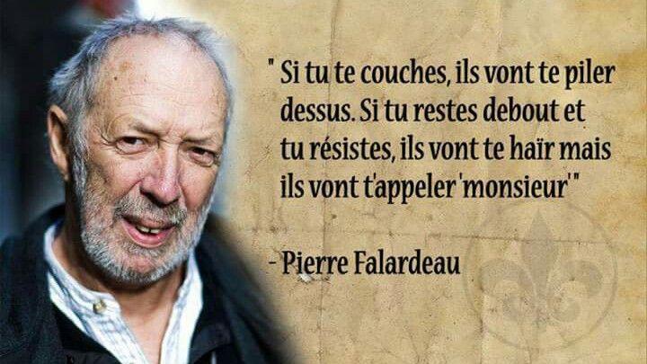 Pierre Falardeau est un cineaste, ecrivain et militant independantiste Quebecois.---1946-2009