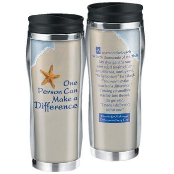 One Person Can Make A Difference Insulated Tumbler  Item # VP-3043