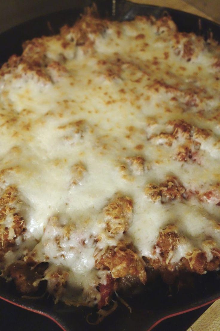 Pork Cutlet Parmigiana
