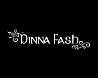 """Bought this for my truck.   """"Dinna Fash"""" - OUTLANDER - vehicle decal"""