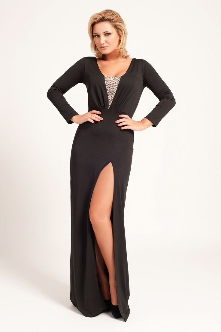 Black dress long - Find This Pin And More On Long Black Dress