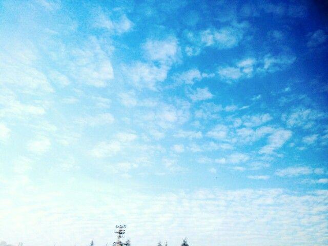Bulutlara bakınca aklıma pamuk kafa geliyor~