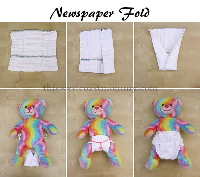 6 Ways To Fold A Prefold Cloth Diaper Yay Cloth Diapering