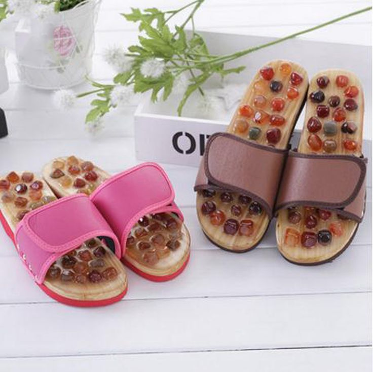 $37.00 (Buy here: https://alitems.com/g/1e8d114494ebda23ff8b16525dc3e8/?i=5&ulp=https%3A%2F%2Fwww.aliexpress.com%2Fitem%2FNatural-Agate-stone-massage-slippers-foot-care-massage-shoes-summer-Home-slippers-Anti-skid-wear-lovers%2F32739530094.html ) Natural Agate stone massage slippers foot care massage shoes  summer Home slippers Anti-skid wear lovers slippers / tb 170927 for just $37.00