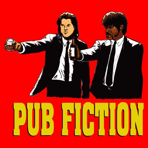 Pulp Fiction Parody of Vincent and Jules doing what they do best.., with a twist of Tshirt Terrorist lemon. Hey, when life gives you T-shirts... mash it up!
