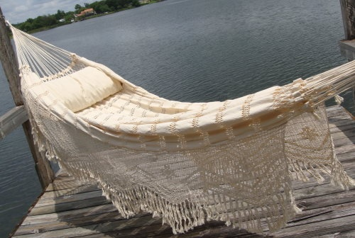 Brazilian Hammock- is this not BEAUTIFUL??
