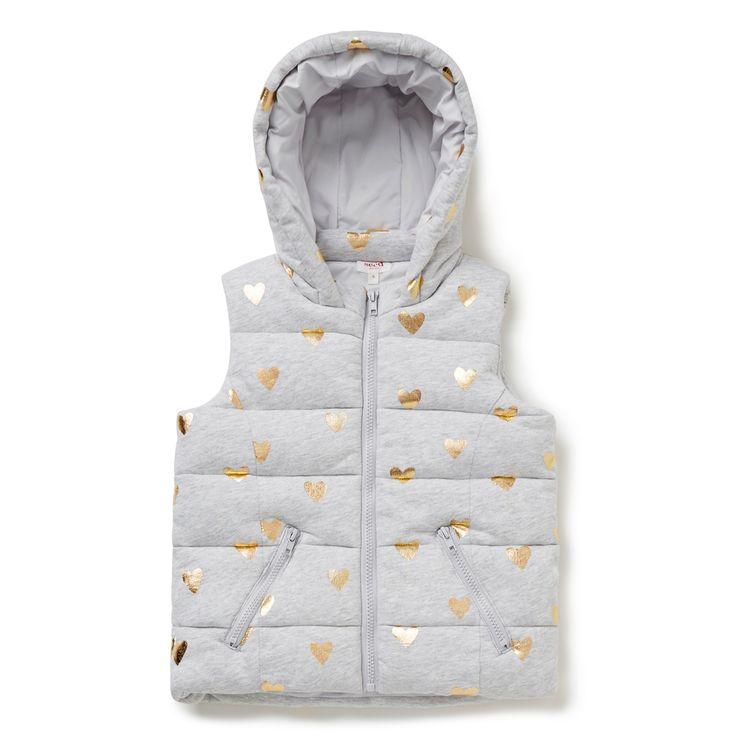 Foil Heart Jersey Vest. #seed #seedheritage #child