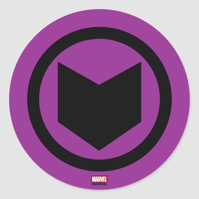 Create Your Own Sticker Zazzle Com In 2021 Hawkeye Marvel Wallpaper Marvel Hawkeye