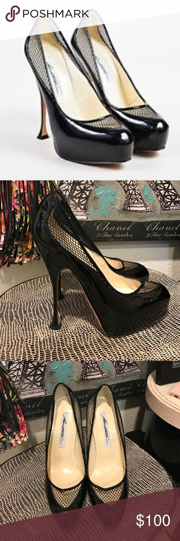 Brian Atwood Mesh Platform Pumps Patent Shoes Brian Atwood Mesh Platform Pumps Patent Shoes. Excellent condition. Seldom worn. Size 38.5. Brian Atwood Shoes Platforms