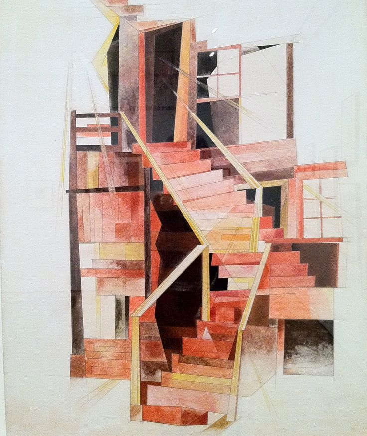Modern Architecture Artists 37 best precisionism images on pinterest | painting, urban