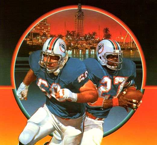 The 138 best nfl art miami dolphins images on pinterest art miami miami dolphins damac poster art by chuck ren voltagebd Choice Image