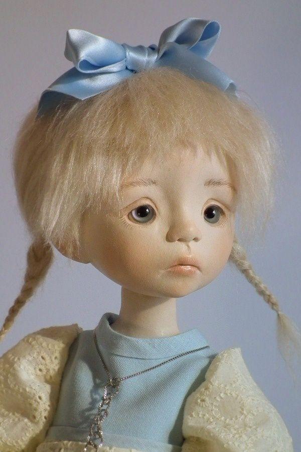 Professor italiano tutorial cabeça e rosto cor de produção Linda Macario BJD Boneca