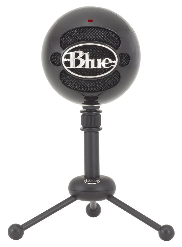 Blue Snowball Mic for James