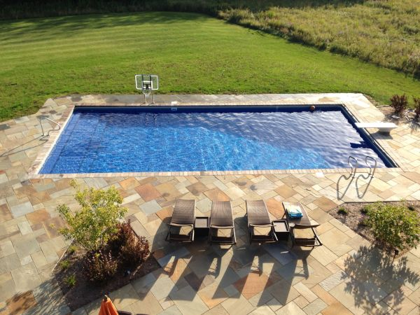 find this pin and more on backyard pool rectangle pool designs and installations from custom inground swimming - Inground Swimming Pool Designs Ideas
