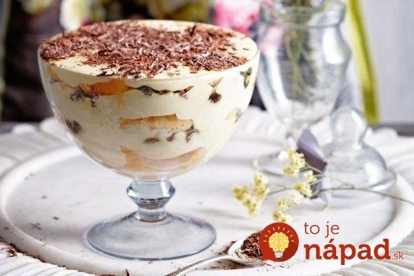 Tiež neviete odolať chutnému talianskemu dezertu  s lahodou vôňou kávy? Pripravte si tento skvelý dezert v najrýchlejšom recepte, aký poznáme. Tiramisu poháre sú pripravené len za 5 minút.