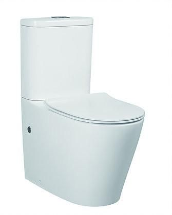 $370 Inspire Feanza Tornado Toilet Suite with SilentFlush® | Bathroom Trade Shed