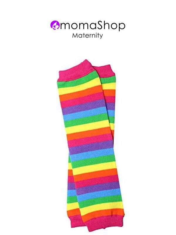 One Size 12 pounds to 10+ Years judanzy 3 Pack of Baby and Toddler Boy Leg Warmers , Stripe 3 Pack