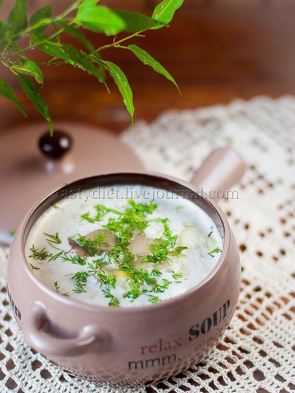 грибной суп-пюре с цветной капустой от Сони tastydiet