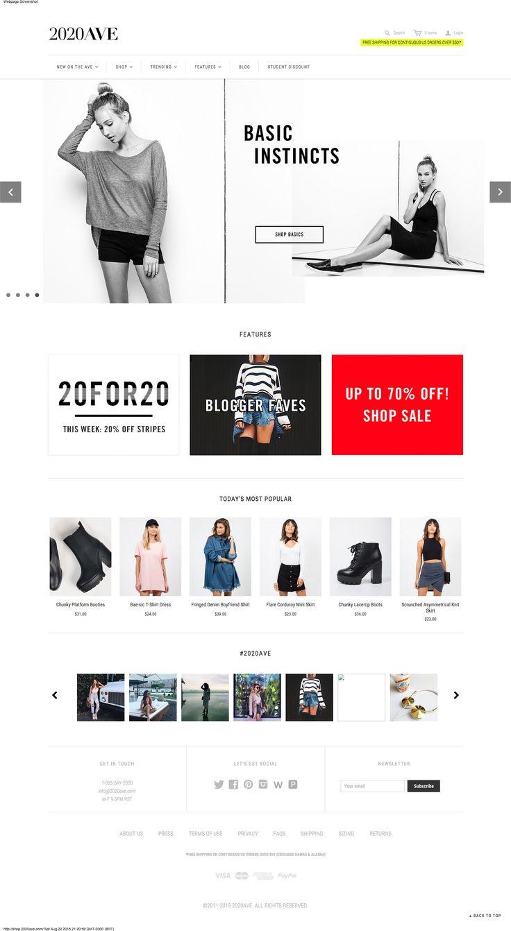 d706d71d5fb06cde32042cf129044622 email design boots women 60 best fashion e commerce design images on pinterest,E Commerce Womens Clothing