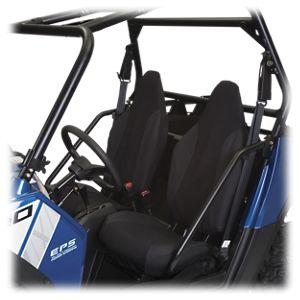 Classic Accessories Quad Gear UTV Bucket Seat Cover - Black - Polaris RZR